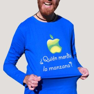 camiseta de pádel de algodón manga larga