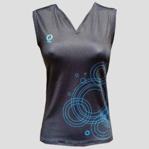 Camiseta de pádel para mujer