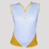 camiseta de pádel o tenis amarilla