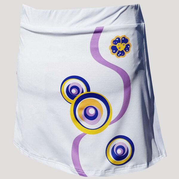 Exclusiva falda de pádel o tenis