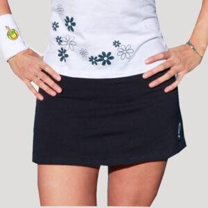 falda de pádel o tenis estampada