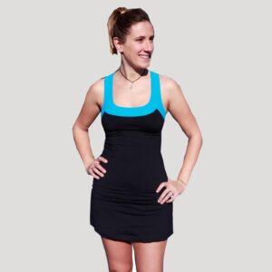 vestido de pádel o tenis negro
