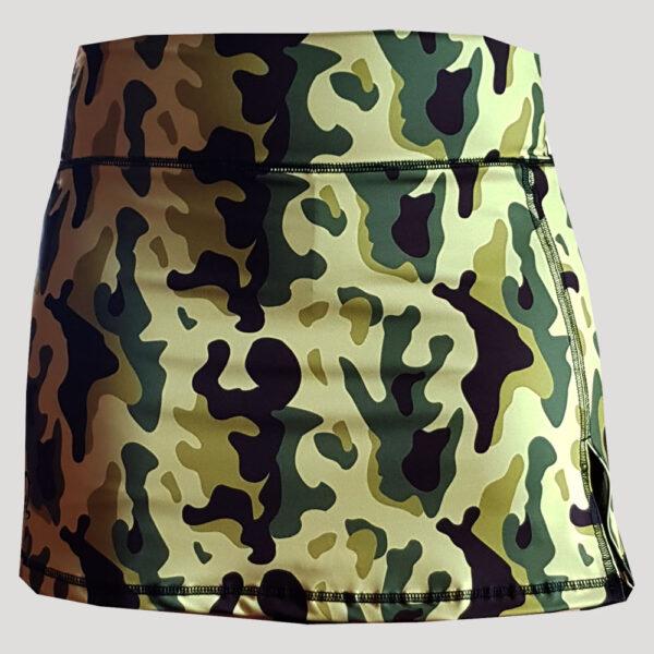 falda de pádel camuflaje