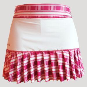 original falda de pádel con tablas