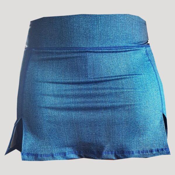 falda de pádel vaquera